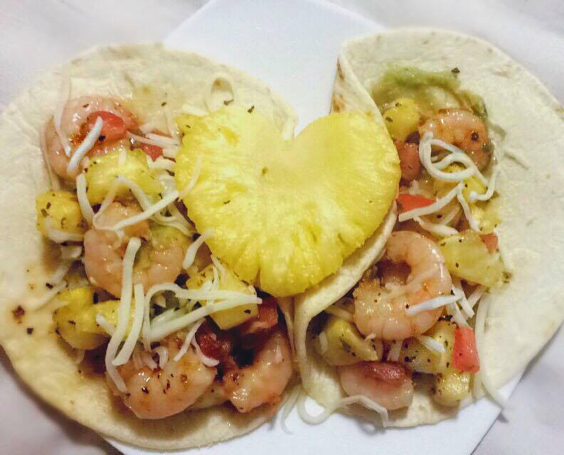 Honey Garlic Shrimp Tacos with Pineapple Salsa