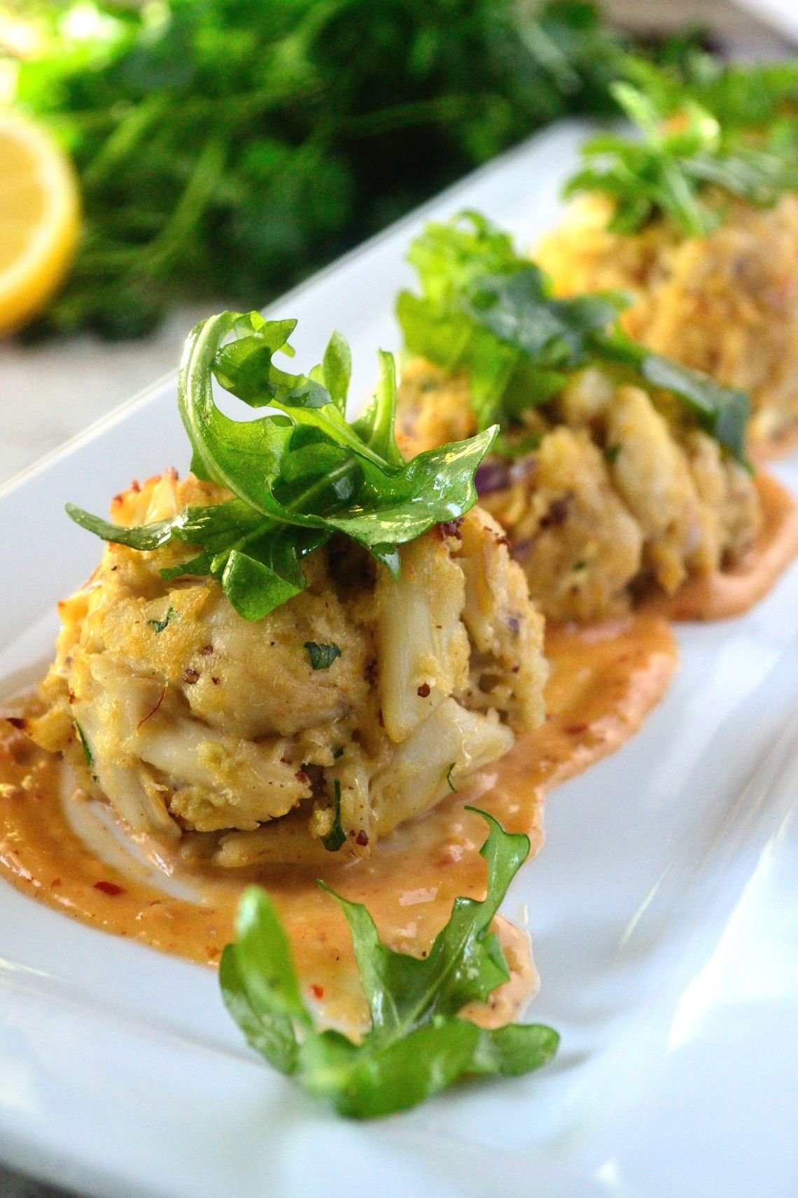 Crab Cakes with Spicy Creole Mustard Aioli