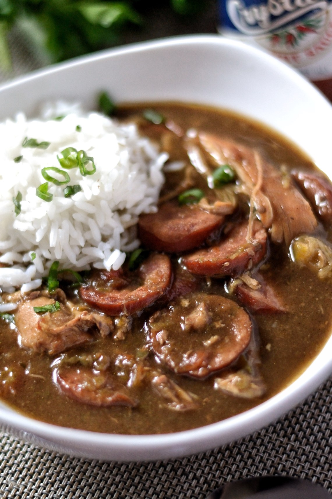 Creole Chicken and Sausage Gumbo Recipe