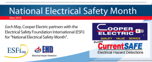 NESM Cooper 300x124 May   National Electrical Safety Month
