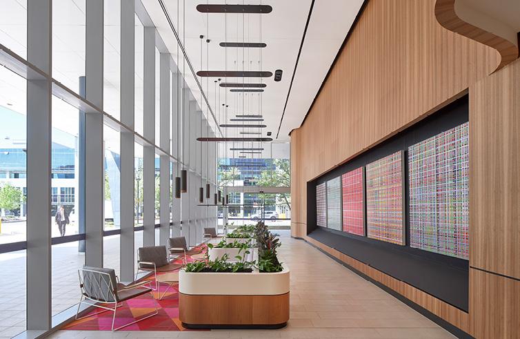 Construction Company Sydney Workplace Office Building Refurbishment fit-out Dexus