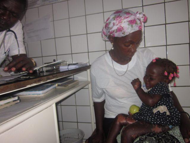 Hospital Nossa Senhora da Paz de Cubal en Facebook de Manos Unidas africa