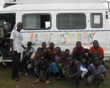 Colonias 2014 – La Joie des Orphelins y DUNA