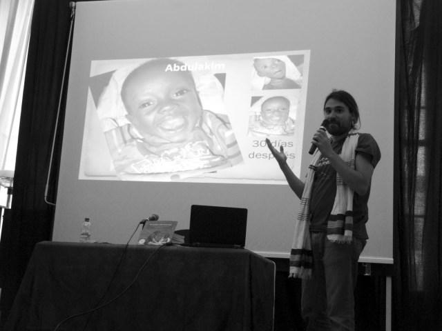 Iñaki Alegría y Gambo. Donde comparten cama la vida y la muerte. Entrevista de José Paneque africa alegria gambo dr alegria gambo