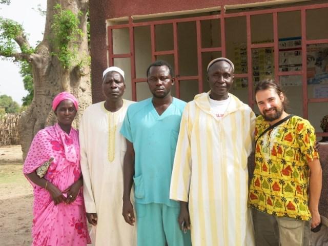 Muchas gracias a ADAIC por su cálida acogida en Sandiniery, Senegal africa dr alegria