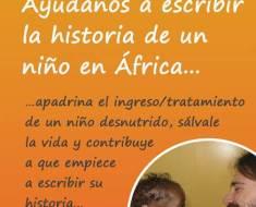 Ayúdanos a escribir la historia de una niñ@ en África – #GivingTuesday