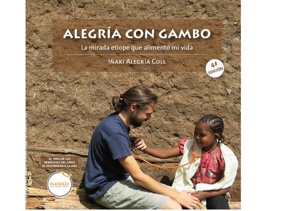 Libro solidario ALEGRÍA CON GAMBO:La mirada etíope que alimentó mi vida etiopia gambo
