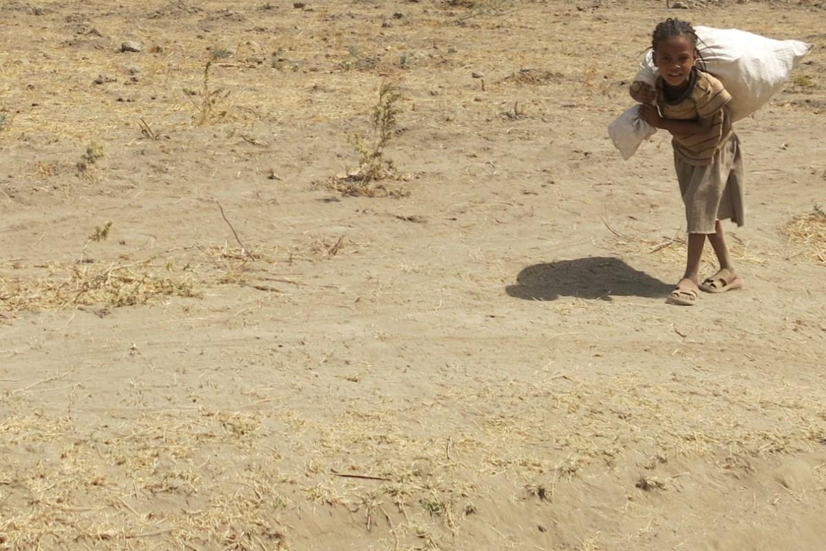 Obligada a ser heroína cuando sólo quiere ser niña africa alegria gambo alegria sin fronteras dr alegria etiopia gambo