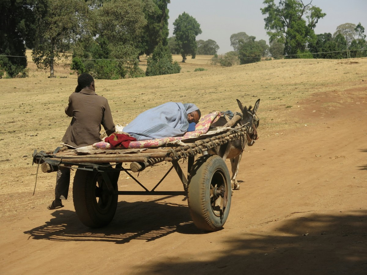 Camino al hospital dr alegria etiopia gambo