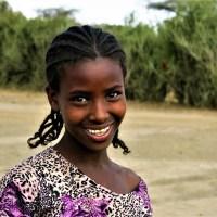 Niña nací en Etiopía