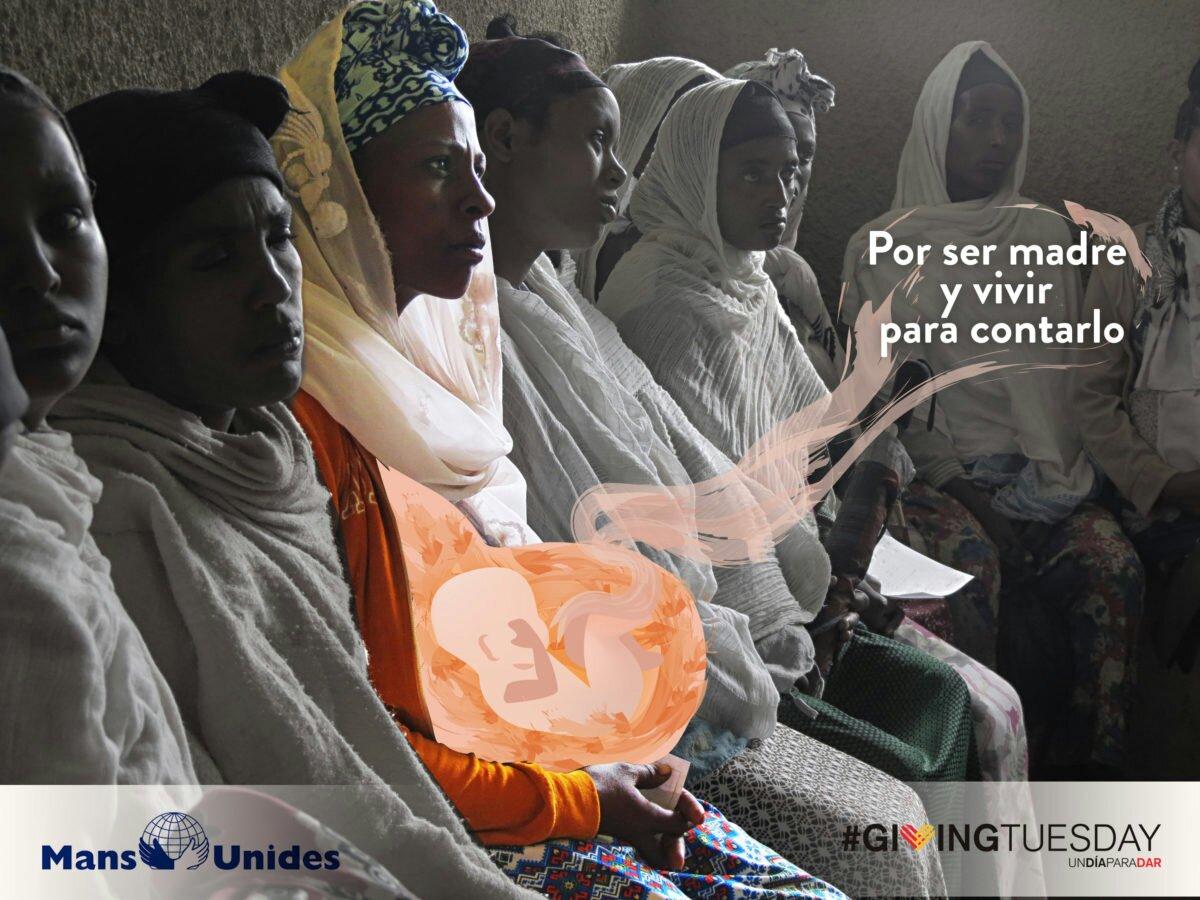 Giving Tuesday: Hay algo mejor que salvar vidas,  enseñar a salvarlas alegria gambo alegria sin fronteras dr alegria etiopia gambo