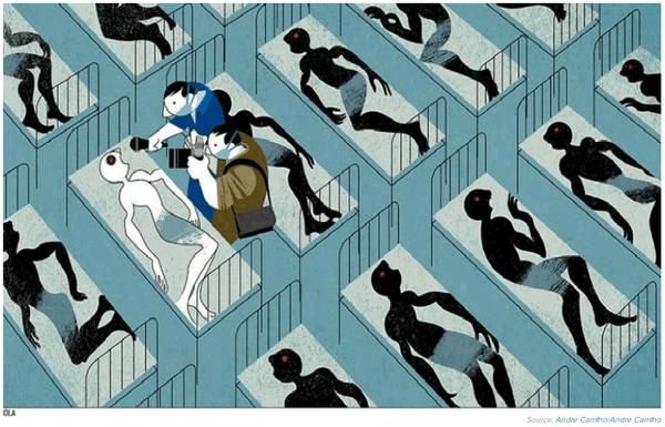 La vida de un blanco sigue valiendo más que la de 1000 negros