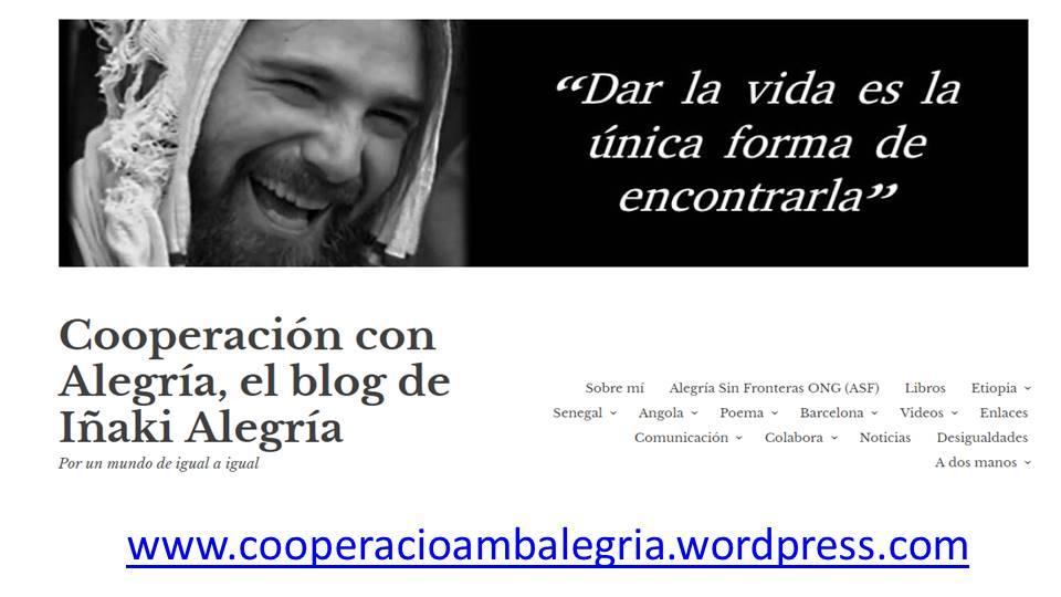 Mucho más que un nuevo diseño: Descubre el nuevo blog, por un mundo de igual a igual alegria gambo alegria sin fronteras