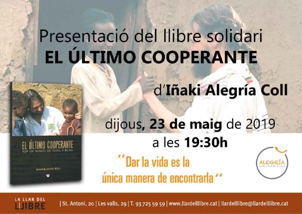 Te espero en Sabadell Jueves 23 de Mayo africa dr alegria