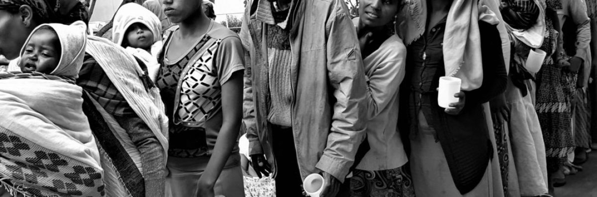 Hambre multiplicado por sed, ¿cuál es la respuesta? africa dr alegria etiopia gambo