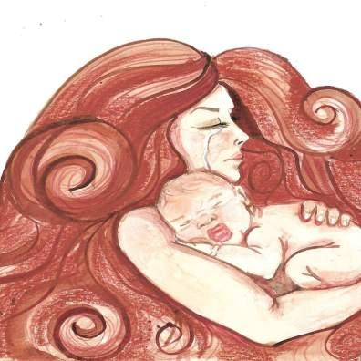 Mamá, yo también quiero dar teta africa alegria gambo alegria sin fronteras