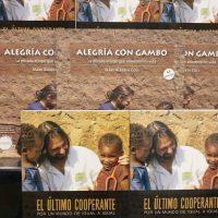 """El temporal Gloria no impide la presentación del libro """"El Último cooperante"""" en Barcelona"""