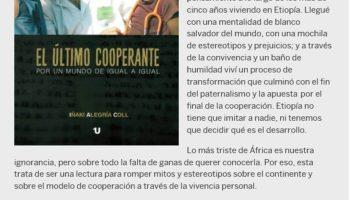 Sorteo de los Libros solidarios del Dr Alegria alegria con gambo dr alegria el último cooperante frases la mirada etiope libros