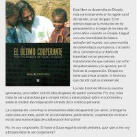 Libros Solidarios: Alegría con Gambo y El último cooperante