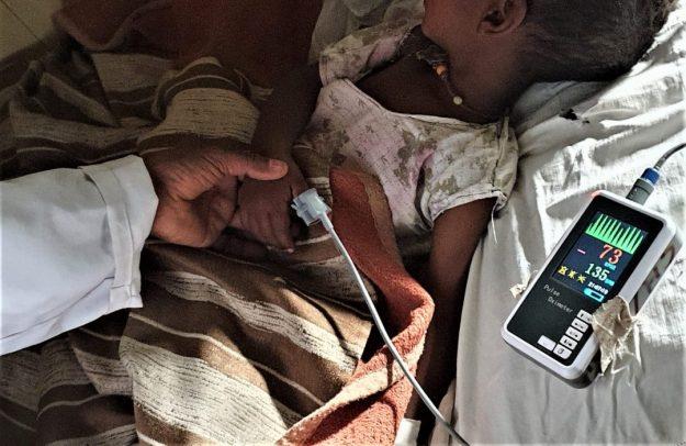 Cada vida cuenta: Luchando contra el brote de Sarampión en Gambo, Etiopía africa