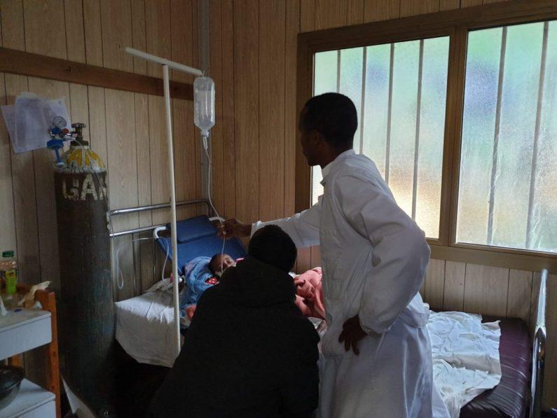 Morir por sarampión y neumonía en los días del Coronavirus africa alegria gambo alegria sin fronteras dr alegria etiopia gambo