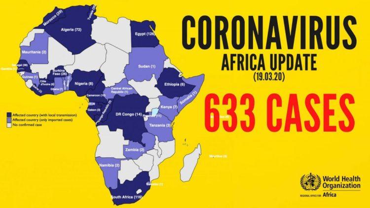 Coronavirus WHO Africa