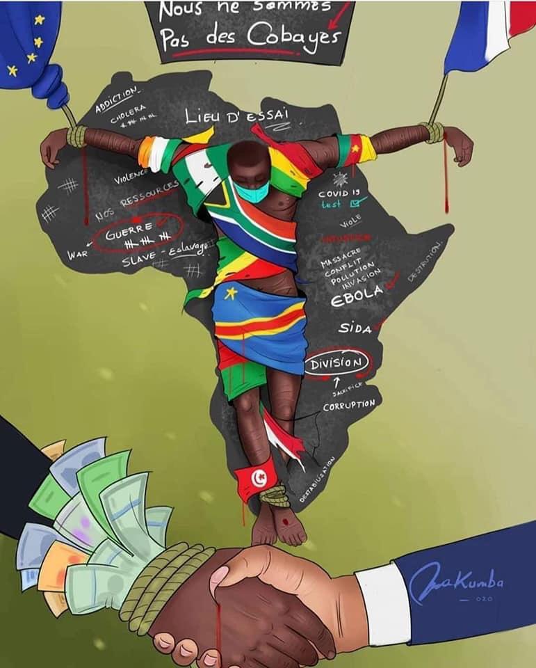 Crucifixión al Amor africa alegria gambo alegria sin fronteras dr alegria