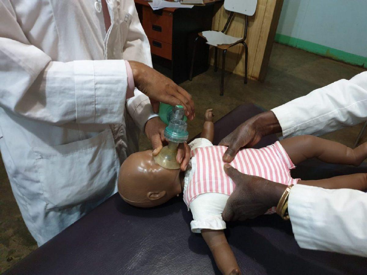 La primera UCI Neonatal rural en el Hospital de Gambo, Etiopía alegria gambo alegria sin fronteras dr alegria etiopia gambo