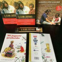 Sorteo de los Libros solidarios del Dr Alegria — Cooperacio amb alegria