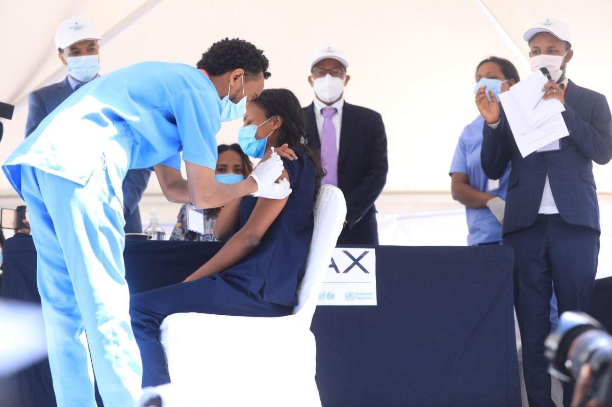 Llegan las primeras vacunas a Etiopía actualidad addis abeba africa etiopia Vacuna Covid19