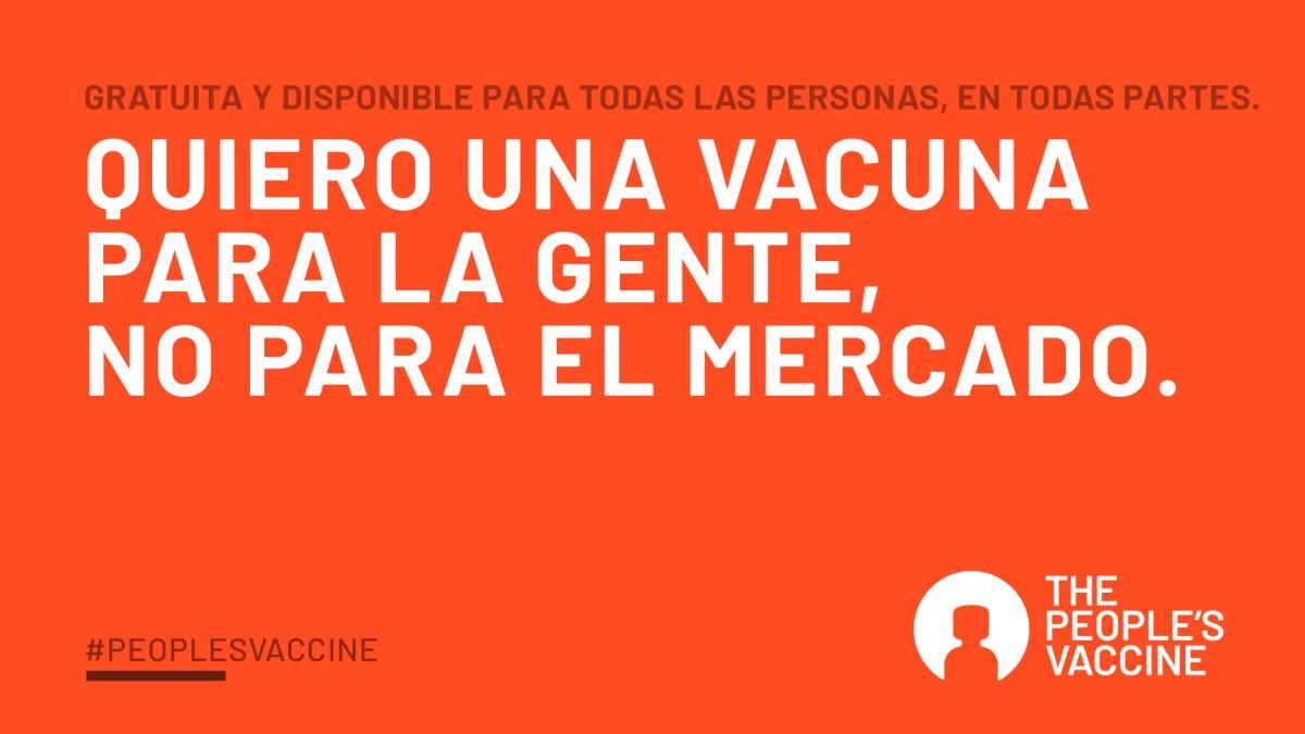 Descubre La vacuna sin patente, la vacuna de la gente actualidad Vacuna Covid19