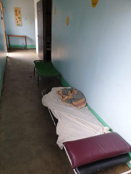 Ampliación de la unidad nutricional del hospital rural de Gamboen Etiopía africa