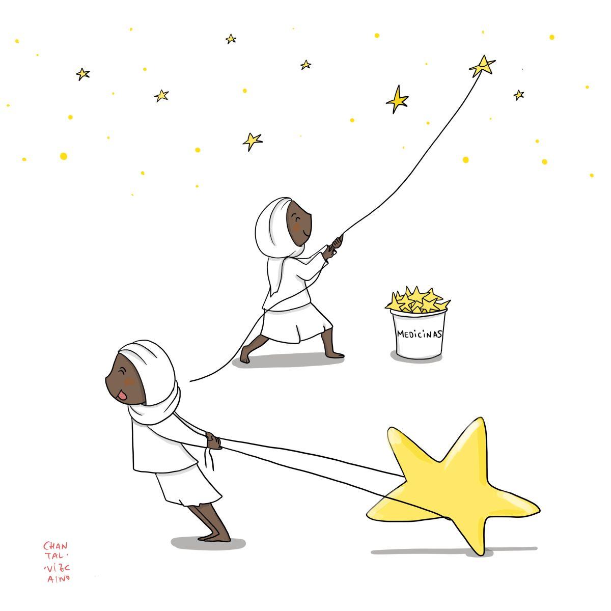 En primera línea contra la desnutrición infantil Hiwot y la estrella mágica