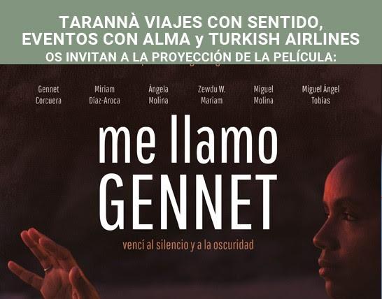 """""""Me llamo Gennet"""" una historia real que merece ser contada actualidad"""