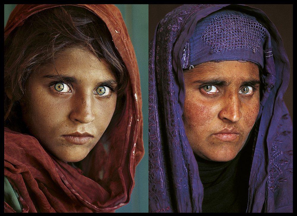Sharbat Gula, la refugiada afgana más famosa del mundo actualidad Racismo refugiados