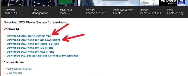3CX+Pabx+Ip+Windows+Download+v14+Phone