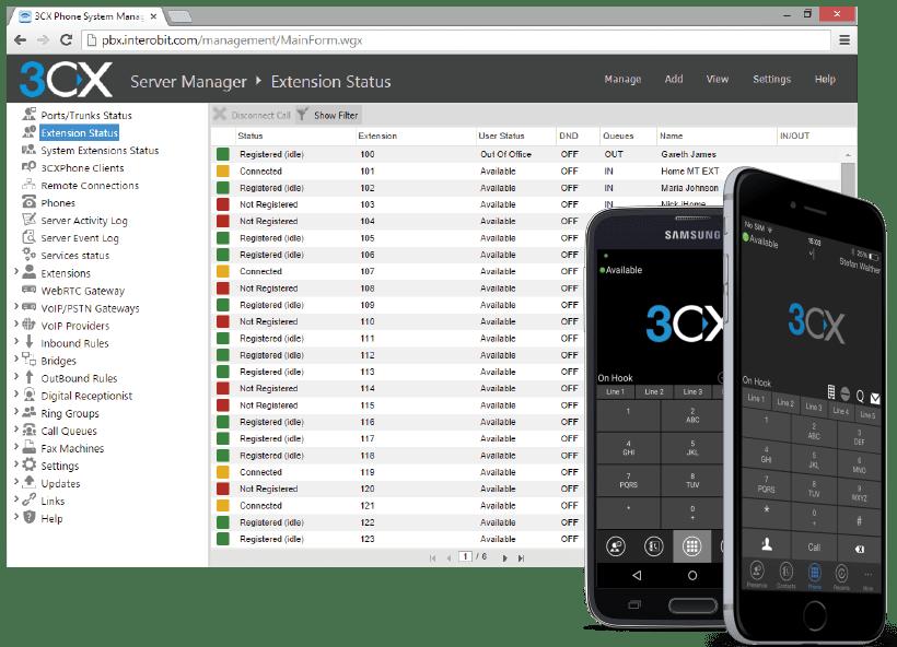 3CX+Pabx+Ip+Windows
