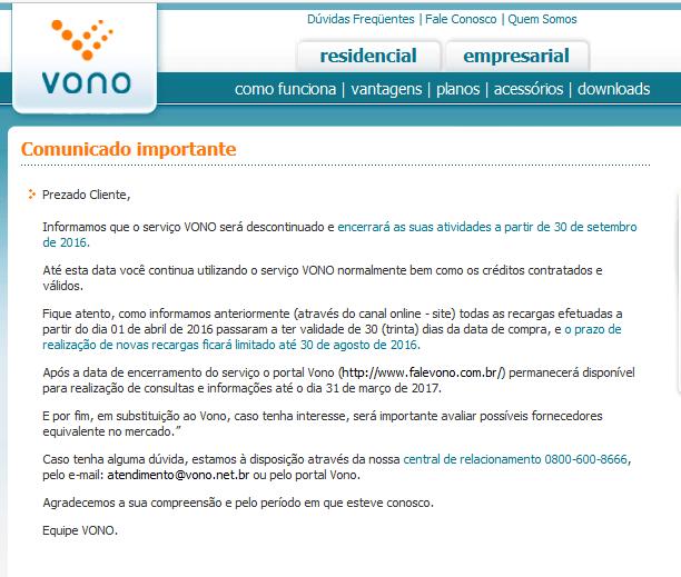 Witec-Desliga-Operadora-Vono-Pabx-Ip-Comunicado