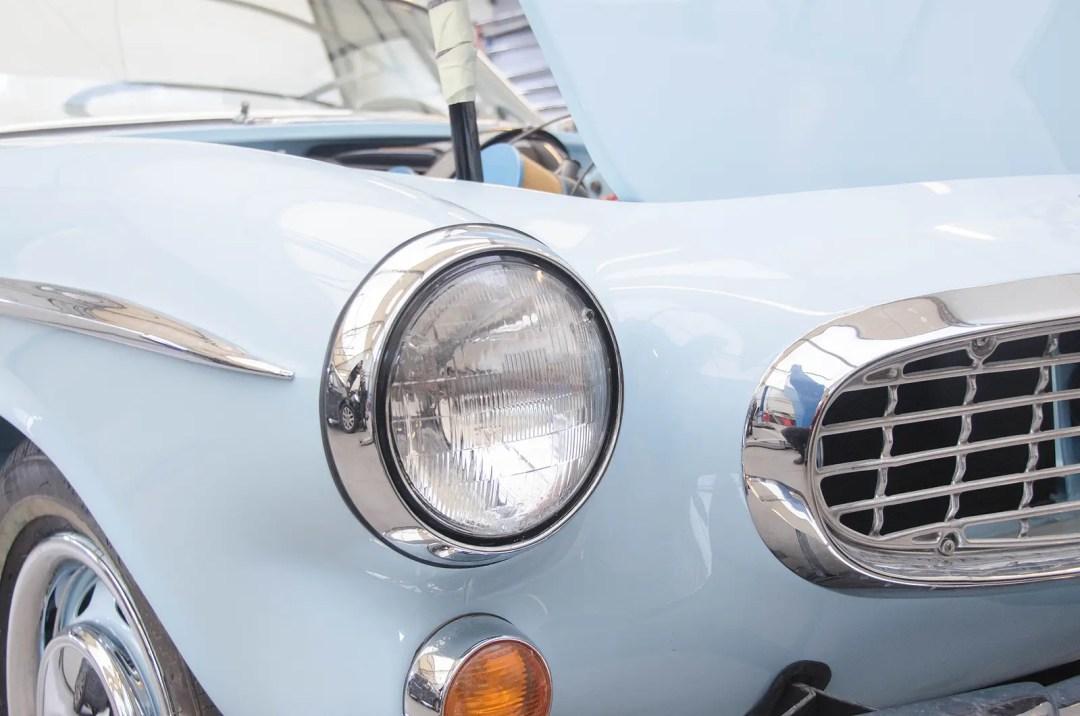 Beautiful retro race car
