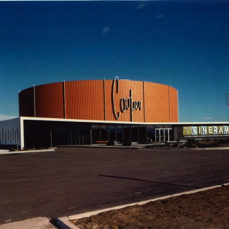 Denver Cinerama Theatre, Denver, CO. Theatre front.