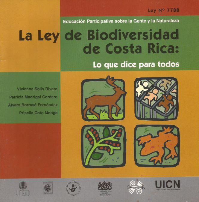 La Ley de Biodiversidad de Costa Rica