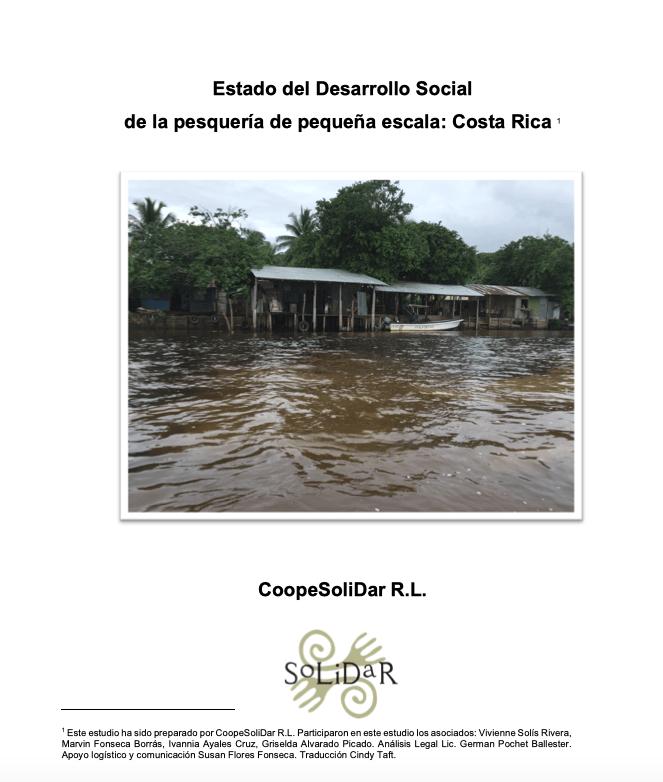 Estado del Desarrollo Social de la pesquería de pequeña escala: Costa Rica