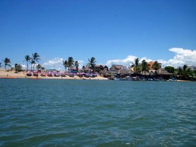 Barra, beach on the lagoon side