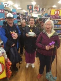 shopping training in Torbay with Co-ordin8