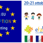 20 e 21 ottobre '17, TORINO: 1° EUROPEAN ADOPTION MEETING tra COORDINAMENTI