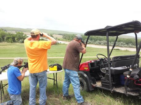 Prairie dog snipers. Give it a try! It's a blast.