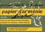 Carta Profumata Papier d'Armenie