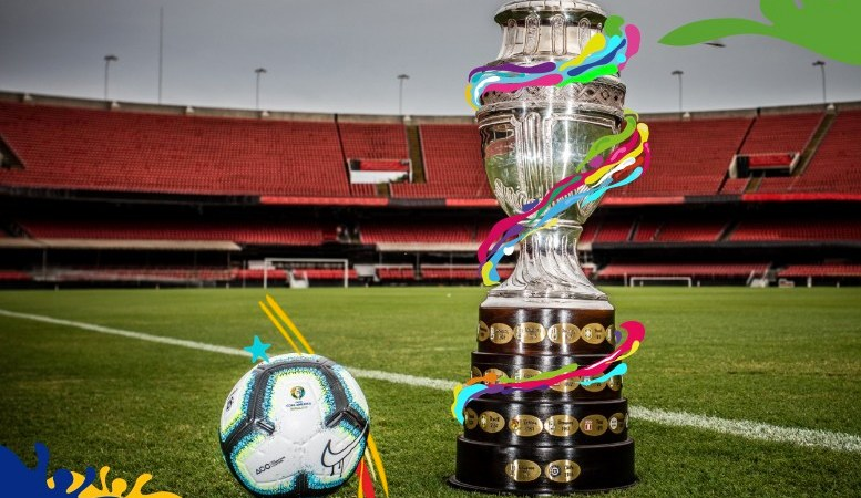 Copa America 2019 'Official Ball and Trophy' unveiled !