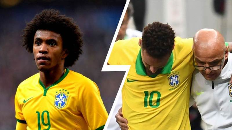 Willian replaces injured Neymar for Copa America 2019