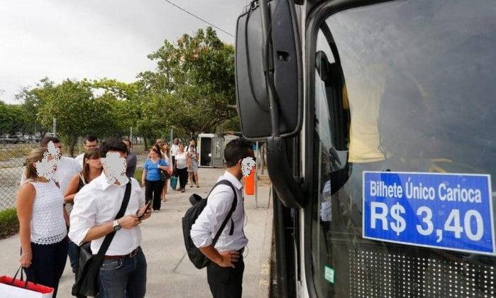 Atenção:Liminar autoriza reajuste das passagens de ônibus no Rio para R$3,95 25/05/2017